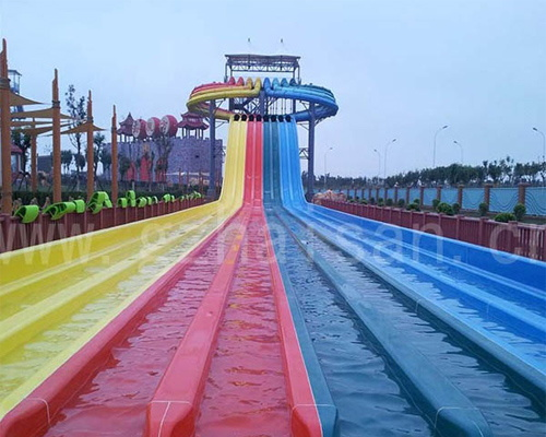 breathtaking slide area, passion surfing area, beach recreation area, magical drifting area, happy time zone and spa area